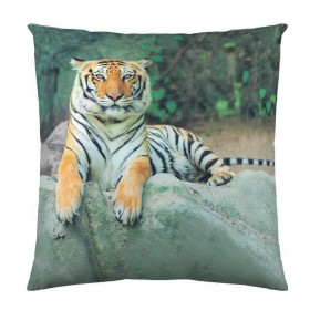 Povlak na polštářek Tygr 40x40 cm FOTOTISK, canvas
