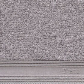 Bavlněná osuška Greno Aviz 140x70 - popelavá