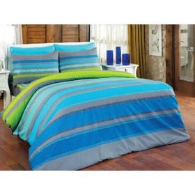 Povlečení Elle modré - 140x200, 70x90, 100% bavlna
