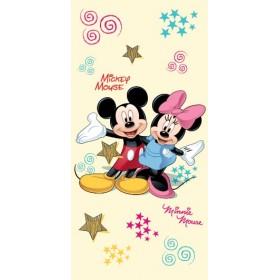 Osuška Mickey a Minnie 2014,  70x150 cm - 100% bavlna