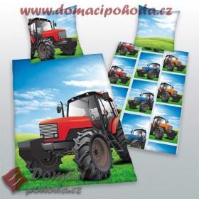 Povlečení Traktor 2014 - 140x200, 70x90