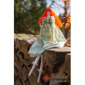 Dekorační panenka Helenia - 45 cm, RUČNÍ PRÁCE