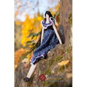 Dekorační panenka Teneria - 45 cm, RUČNÍ PRÁCE