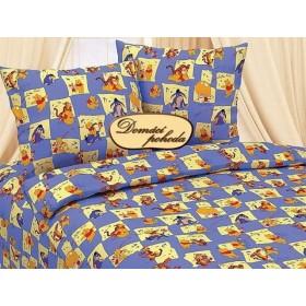 Dětské povlečení na velkou postel - Berušky modré - 140x200, 70x90