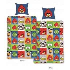 Obliečky Angry Birds 129 - 140x200, 70x90, 100% bavlna