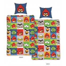 Povlečení Angry Birds 129 - 140x200, 70x90, 100% bavlna