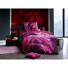 Makosaténové obliečky Sweet violett - 140x200, 70x90
