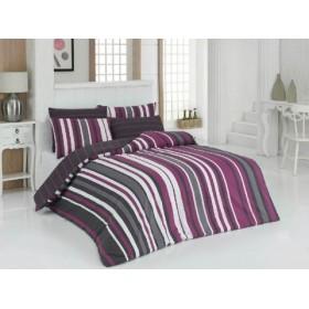 Povlečení Style lila 140x200, 70x90 - 100% bavlna