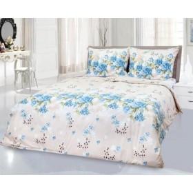 Povlečení Blue rose 140x200, 70x90 - 100% bavlna