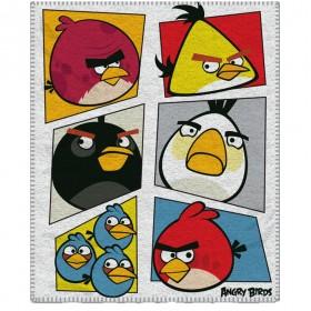 Fleecová deka Angry Birds 069 - 120x150 cm