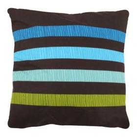Povlak na polštářek Elle hnědý - 40x40 cm, 100% bavlna