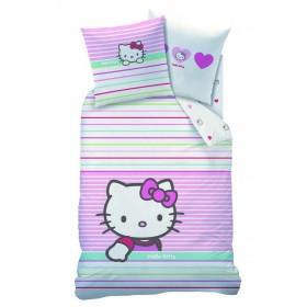 Povlečení Hello Kitty Mandarine - 140x200, 63x63 - polycoton