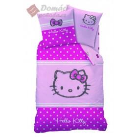 Flanelové povlečení Hello Kitty Lola - 135x200, 80x80