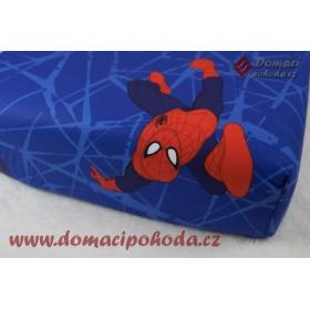 Prostěradlo Spiderman - 90x190/200 cm, 100% bavlna