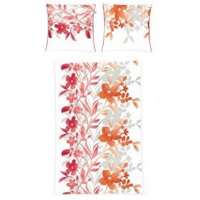 Obliečky makosatén Irisette Capri-K 8114/50 červené, 140x200, 70x90