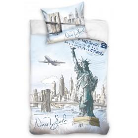 Povlečení New York bedTex - 140x200, 70x90