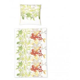 Obliečky makosatén Irisette Capri-K 8114-30 zelené, 140x200, 70x90
