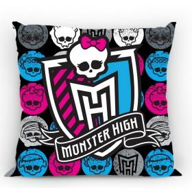 Povlak na polštářek Monster High 05 FR - 40x40 cm, 100% bavlna