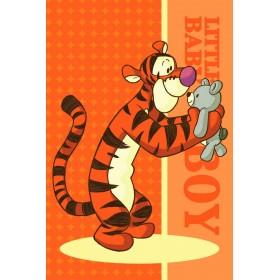 Dětský ručník Tygřík - Medvídek Pú 02 FR - 40x60 cm, 100% bavlna