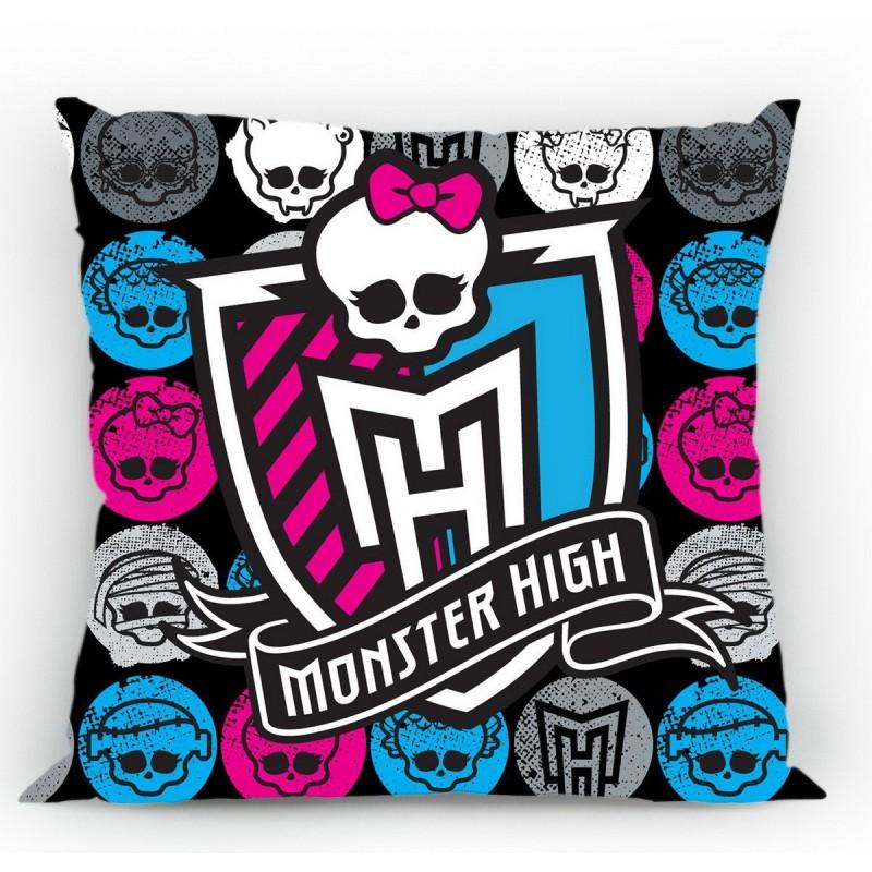 Polštářek Monster High 05, 100% bavlna - 40x40 cm s výplní