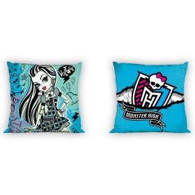 Polštářek Monster High 013, 100% bavlna - 40x40 cm s výplní
