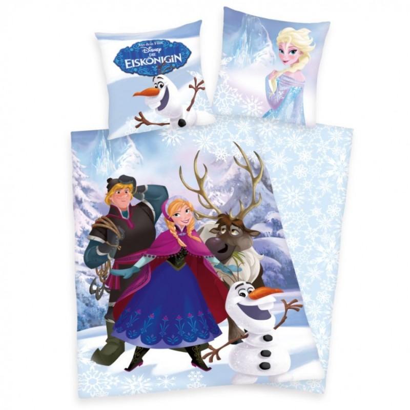 Povlečení Ledové království - Anna a Kristoff, 140x200, 70x90, 100% bavlna