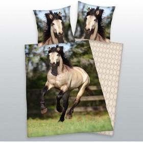 Obliečky Kůň na pastvě - 140x200, 70x90, 100% bavlna
