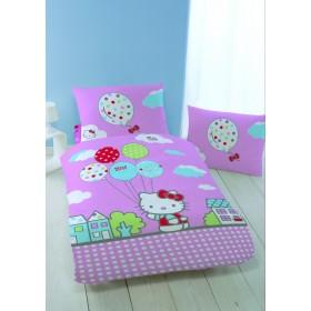 Povlečení Hello Kitty Circus  - 140x200, 70x90 cm, 100% bavlna