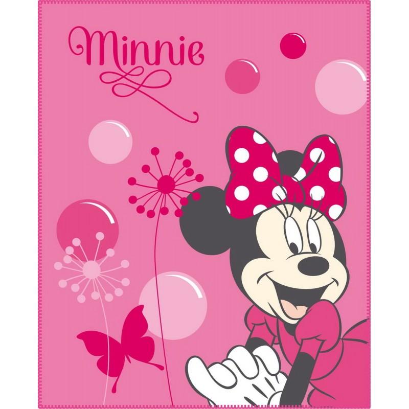 Fleece deka Minnie New Shoes CTI - 110x140 cm