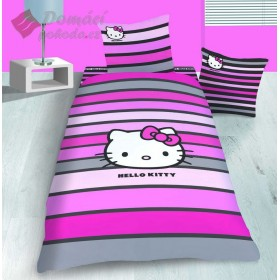 Povlečení Hello Kitty Fancy Pink - 140x200, 70x90