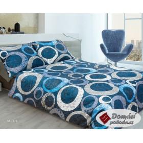 Obliečky Urbis modré 140x200, 70x90 - bavlněný satén
