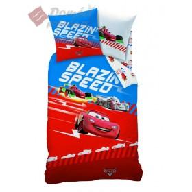 Povlečení Cars Blazin speed  - 140x200, 63x63 cm