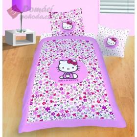 Povlečení Hello Kitty Flora  - 140x200, 63x63 cm