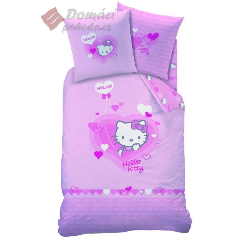 Obliečky Hello Kitty Lucie  - 140x200, 63x63 cm