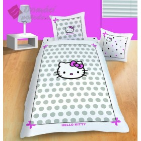 Povlečení Hello Kitty Smart  - 140x200, 63x63 cm