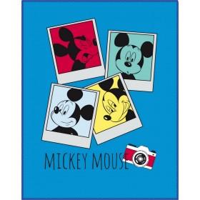 Fleece deka Mickey Photomaton CTI - 110x140 cm