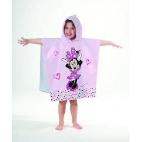 Pončo Minnie Bows Style, 60x120 cm, 100% bavlna