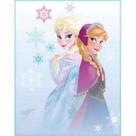 Fleece deka Frozen Winter (Ledové království) CTI - 110x140 cm