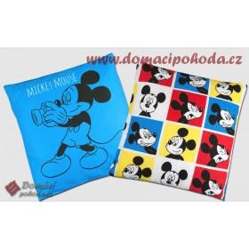 Polštářek Disney Mickey Photomaton 40x40 cm - 100% bavlna