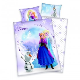 Obliečky do postýlky Frozen/Ledové království - 100x135, 40x60, 100% bavlna