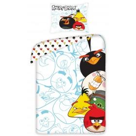 Povlečení Angry Birds 5002 - 140x200, 70x80, 100% bavlna