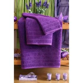 Kvalitní ručník Elegant - vysoká gramáž 630 g/m2 - fialový