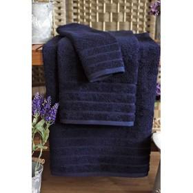 Kvalitní ručník Elegant - vysoká gramáž 630 g/m2 - tmavě modrý