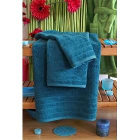 Kvalitní ručník Elegant - vysoká gramáž 630 g/m2 - petrolejový