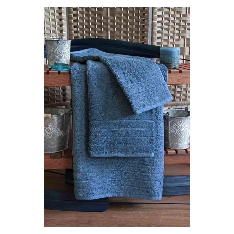 Kvalitní ručník Elegant - vysoká gramáž 630 g/m2 - ocelově modrý