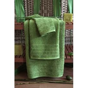 Kvalitní ručník Elegant - vysoká gramáž 630 g/m2 - zelený