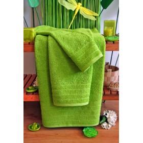 Kvalitní ručník Elegant - vysoká gramáž 630 g/m2 - limetkově zelený