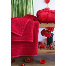 Kvalitní ručník Elegant - vysoká gramáž 630 g/m2 - červený