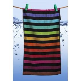 Kvalitní osuška Sunny Time - Stripes 74x152 cm