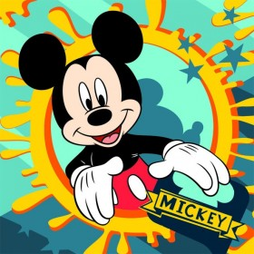Magický froté ručníček Mickey FR 01 - 30x30 cm, 100% bavlna